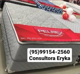 Título do anúncio: Cama Box Casal   Molas Ensacadas   Entrega Grátis _ _