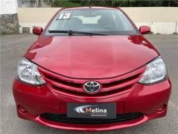 Título do anúncio: Toyota Etios 2013 1.5 xs sedan 16v flex 4p manual