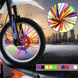 Capa de Raio Para Moto de Trilha Bicicleta Cadeira de Rodas Varias Cores