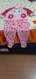 Conjunto De Bebê menina 1 ano
