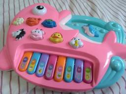 Teclado infantil musical