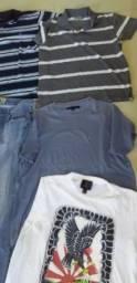 Lote de roupas masculina