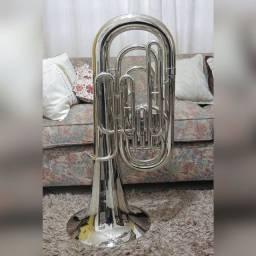 Tuba Weril Brasil Mib 4 Pistos - Zerada / Raridade