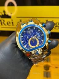 Invicta Magnum azul lacrado com garantia