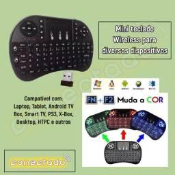 Mini teclado Wireless para diversos dispositivos
