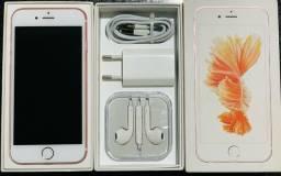 iPhone 6s 32gb 1mes + nota + caixa + Acessorios + sem marcas