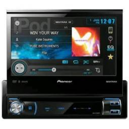 Dvd Automotivo USADO Pioneer Retrátil Avh-X7580bt