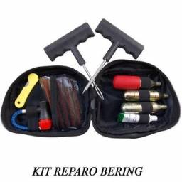 Kit Conserto Pneu (inclui Ferramentas P/ Reparo E 3 Garrafas)