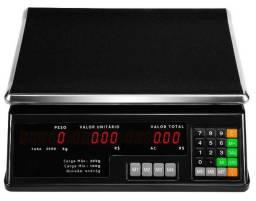 Aproveite Promoção Hoje Balança Digital Visor Duplo Bateria Interna 30kg Especial