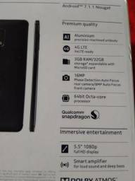 Nokia 6 Novo 2 Chip. 32G R$ 1.000,00