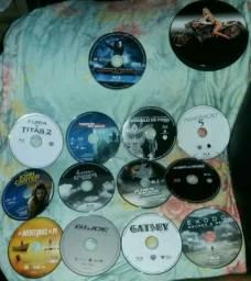 13 Blu ray por 80,00 com porta cd e sem capa