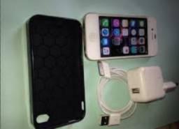 Vendo um iphone4 usado em bom estado 1 mes de uso
