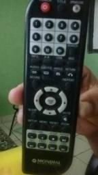 Controle de dvd
