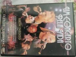 Dvd Um Concerto Pela Vida