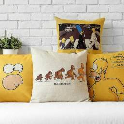 4 Capas De Almofadas Decorativas Simpsons 45x45