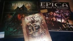 Epica- The Quantum Enigma, Retrospect e Livro autografado