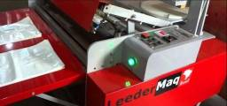Maquina para fabricação de sacolas automática leedermaq-seminova