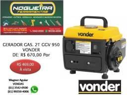 Gerador a Gasolina 2 Tempos, GGV 950, 220V Vonder