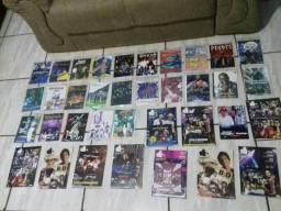 35 Dvds variados samba/sertanejo