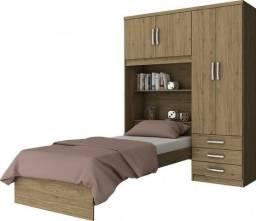 Título do anúncio: Mega Oferta - Guarda roupa Solteiro com cama por R$949,00