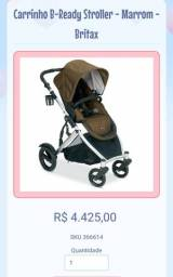 Carrinho B-Ready Stroller - Marrom - Britax