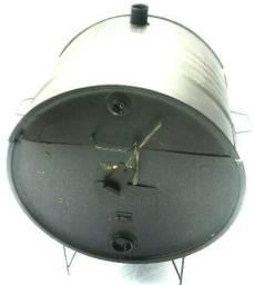 Churrasqueira de tambor - meio tambor pé baixo - Arteinoxx