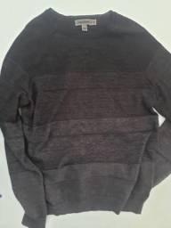 Suéter lã Calvin Klein