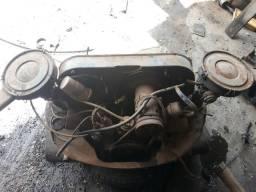 Motor da Brasília 1600 2 carburador