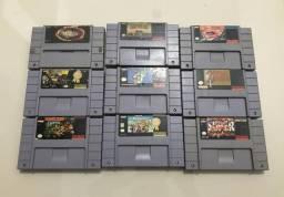 Jogos Super Nintendo Originais Snes Cartucho
