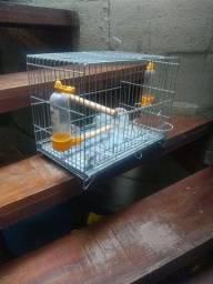Gaiola para pássaro