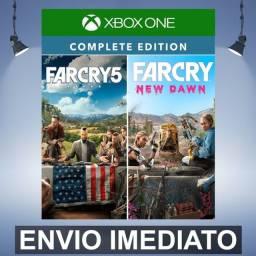 Aluga-se Far Cry 5 + Far Cry New Dawn Deluxe Edition