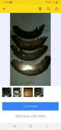Jg. Sapatas de freio traseira ford Mondeo 1.6/1.8/2.0  aro 15  93/96