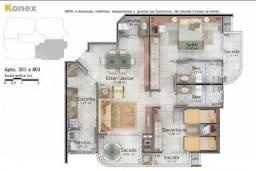 Apartamento à venda com 2 dormitórios em Itacorubi, Florianópolis cod:65175