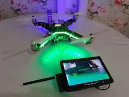 Drone f380 com Kit fpv menos rádio e bateria