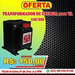 Transformador de energia NOVO. Garantia, Entrega