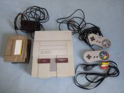 Vende se video game super nintedo