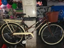 Bicicleta Estilo Retrô Aro 26