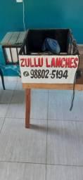 Cargueira pra vender Lanche na moto