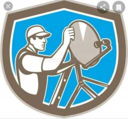 Antenas instalação e receptores vendas e apontamentos de antenas