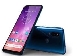 Motorola one vision azul