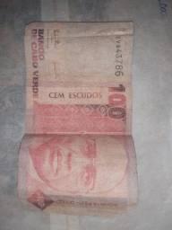 Cédula de 100 escudos Cabo Verde 1989