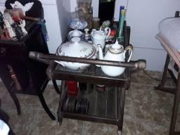 Carrinho de chá em Imbuia