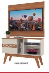 Mega Oferta Conjunto Rack Com Painel Para Tv até 43 Polegadas