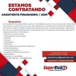 Assistente Financeiro / ADM