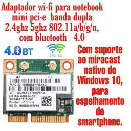 Placa wi-fi para notebook mini pci.