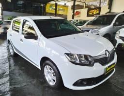 Renault Sandero 1.0 Flex 2020 Completo ( Aceitamos troca e financiamos )