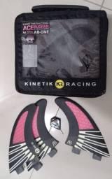 Quilhas de Carbono Kinetik Racing