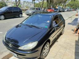 Peugeot 206 1.4 preto 2005