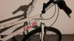 Bicicleta Caloi Ceci 21v aro 24 bom estado toda original! Oportunidade