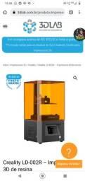 Título do anúncio: Impressora 3D Resina nova na caixa com nota